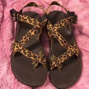 Women's 10 Cheetah Chacos